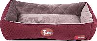 Лежанка для животных Tramps Thermal Lounger / 934743 (бордовый) -