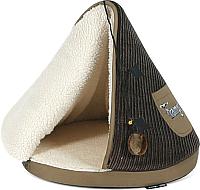 Домик для животных Tramps Юрта / 667626/BR (коричневый) -