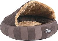 Лежанка для животных Tramps Aristocat Dome Bed / 932862/BR (коричневый) -