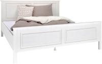 Двуспальная кровать ММЦ Елена 160 (белый лак) -