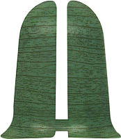 Заглушка для плинтуса Ideal Комфорт 027 Зеленый (2шт) -