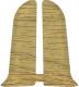 Заглушка для плинтуса Ideal Комфорт 219 Дуб натуральный (2шт) -