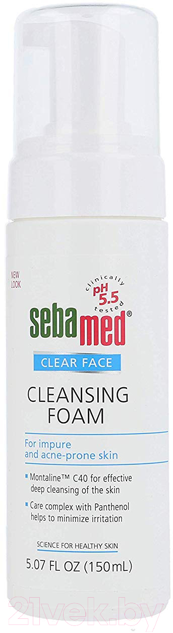 Купить Пенка для умывания Sebamed, Clear Face Antibact Cleansing Foam (150мл), Германия, Clear Face (Sebamed)