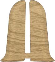 Заглушка для плинтуса Ideal Комфорт 264 Клен темный (2шт) -