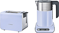 Электрочайник Bosch TWK8619P + тостер TAT8619 -
