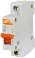 Выключатель автоматический TDM ВА 47-63 1Р 10А (C) 4.5кА / SQ0218-0002 -