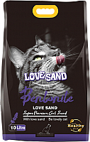 Наполнитель для туалета Love Sand Лаванда / LS-004 (10л) -