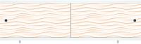 Экран для ванны МетаКам Ультра легкий Арт 1.48 (песочный) -