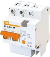 Дифференциальный автомат TDM АД-2-2Р-16А-30мА / SQ0221-0001 -