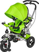 Детский велосипед с ручкой Sundays SJ-10 (зеленый) -