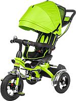 Детский велосипед с ручкой Sundays SJ-BT-6 (зеленый) -