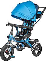 Детский велосипед с ручкой Sundays SJ-BT-6 (голубой) -
