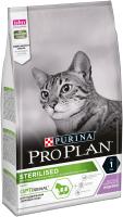 Корм для кошек Pro Plan Sterilised с индейкой (1.5кг) -
