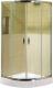 Душевой уголок Coliseum Classic КS-619А 100x100 (тонированное стекло) -