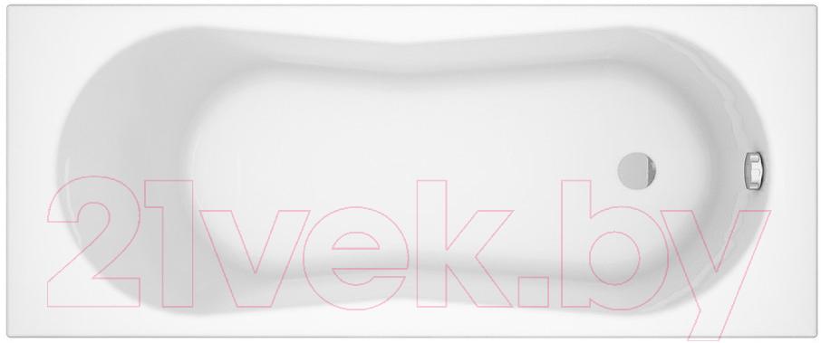 Купить Ванна акриловая Cersanit, Nike 170x70 / P-WP-NIKE-170 (с ножками), Россия