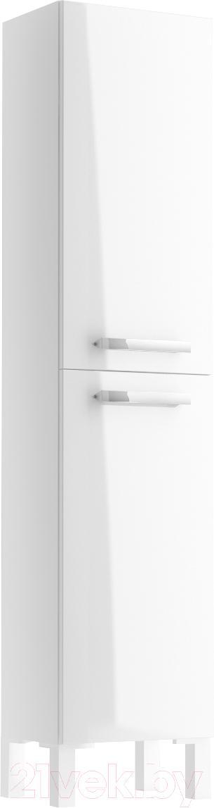 Купить Шкаф-полупенал для ванной Cersanit, Melar 35 S614-004 (белый), Россия