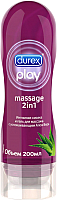 Лубрикант-гель Durex Massage 2 in 1 с алоэ вера (200мл) -