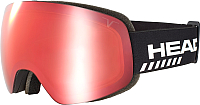 Маска горнолыжная Head Globe Tvt Race red + SpareLens Red / 390009 -