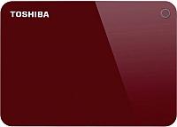 Внешний жесткий диск Toshiba Canvio Advance 2TB (HDTC920ER3AA) (красный) -