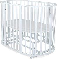 Детская кровать-трансформер СКВ 108001 (белый) -