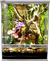 Террариум Lucky Reptile Sencillo / HTS-65W (белый) -