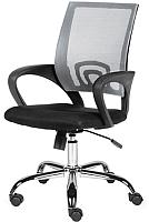 Кресло офисное Norden Spring Chrome / 804-1 chrome АВ14-АС01 (хром/темно серый/черный) -