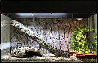 Террариум Lucky Reptile Стартовый комплект для змей / SK50S-B (черный) -