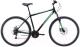 Велосипед Black One Onix 29 D Alloy 2020 (22, черный/серый/зеленый) -