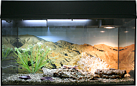Террариум Lucky Reptile Стартовый комплект для эублефаров / SK80LG-B (черный) -