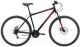 Велосипед Black One Onix 29 D 2020 (18, черный/красный/серый) -