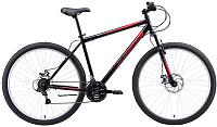 Велосипед Black One Onix 29 D 2020 (22, черный/красный/серый) -