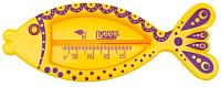 Термометр Lubby Рыбка (желтый) -