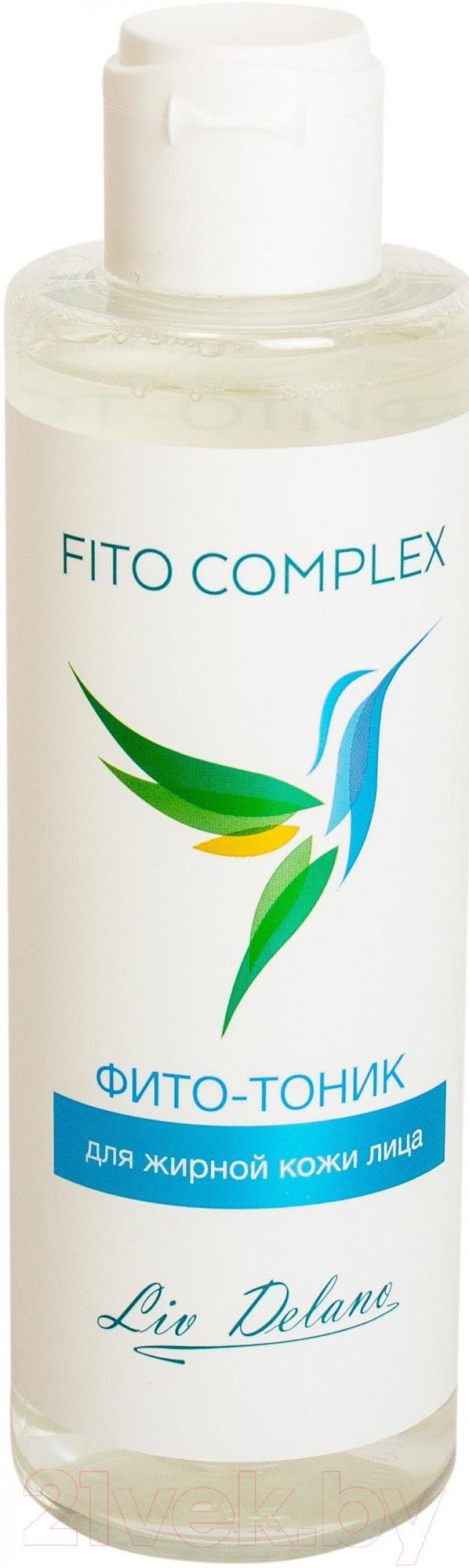 Купить Тоник для лица Liv Delano, Fito Complex для жирной кожи лица (200мл), Беларусь