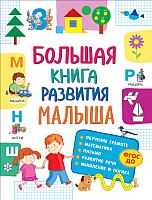 Учебное пособие Росмэн Большая книга развития малыша -