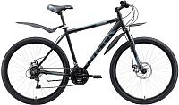 Велосипед STARK Tank 27.1 D 2020 (18, черный/серый) -