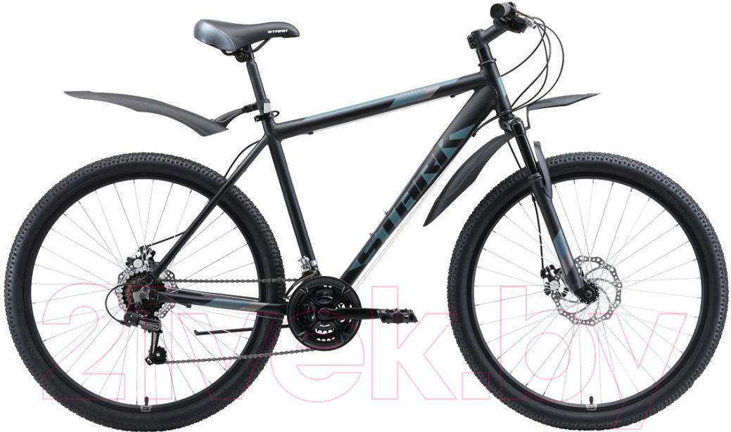 Купить Велосипед STARK, Tank 27.1 D 2020 (18, черный/серый), Россия