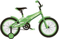 Детский велосипед STARK Tanuki 16 Boy 2020 (зеленый/белый) -