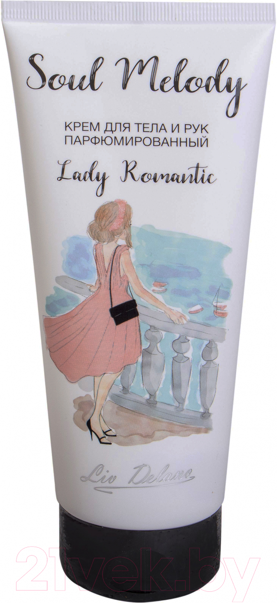 Купить Крем для тела Liv Delano, Lady Romantic парфюмированный для тела и рук (200г), Беларусь