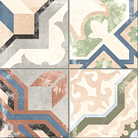 Плитка Codicer Gres Borne Multicolor (250x250) -