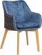 Кресло Atreve Topaz (голубой) -