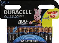 Комплект батареек Duracell UltraPower LR03/AAA (12шт) -