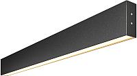 Светильник линейный Elektrostandard 101-100-30-78 15W 6500K (черная шагрен) -