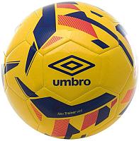 Футбольный мяч Umbro Neo Trainer / 20952U-GLD (размер 4, оранжевый/синий/красный/бирюзовый) -