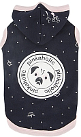 Толстовка для животных Pinkaholic Royal Pug с капюшоном / NARA-TS7307-NY-S (S, синий) -