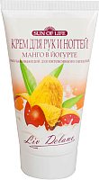 Крем для рук Liv Delano Манго в йогурте омолаживающий для интенсивного питания (150г) -