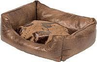 Лежанка для животных Duvo Plus Explorer Bed / 300022/DV (коричневый) -
