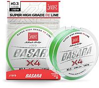 Леска плетеная Lucky John Basara Light Green 125/011 / LJ4102-011 -