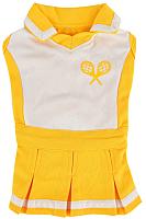 Платье для животных Puppia Ace / PATA-OP1742-YE-S (S, желтый) -