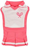 Платье для животных Puppia Ace / PATA-OP1742-PK-S (S, розовый) -