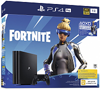 Игровая приставка Sony PS 4 Pro 1TB Black Dualshock 4 + Fortnite VCH / PS719941507 -